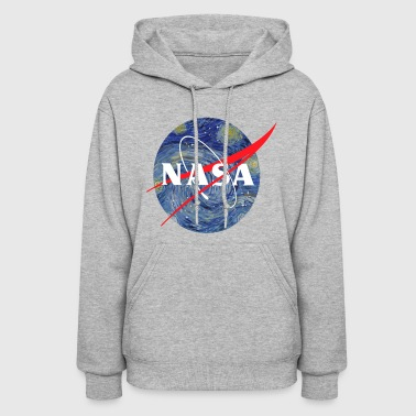 NASA starry night - Women's Hoodie