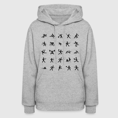 karate martial arts thai boxing ninja kickboxing54 - Women's Hoodie