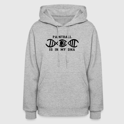 dns dna not only love calling paintball png - Women's Hoodie