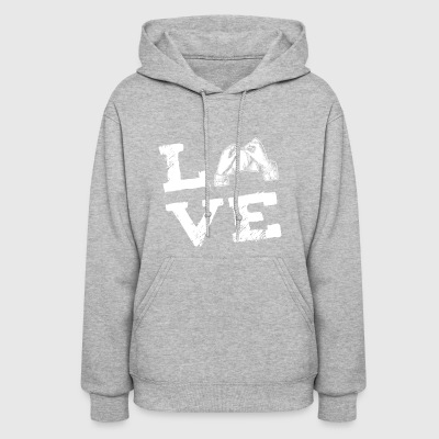 knitting Shredding Yarn Love Gift - Women's Hoodie