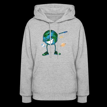 Planet Earth Dabbing Dance - Women's Hoodie