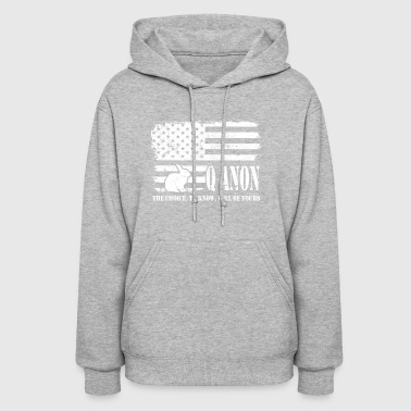 Q Anon The Choice To Know Will Be Yours - Women's Hoodie