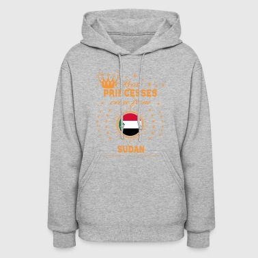 love princesses come from SUDAN - Women's Hoodie
