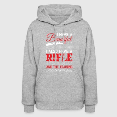 I Have A Beautiful Granddaughter T Shirt - Women's Hoodie
