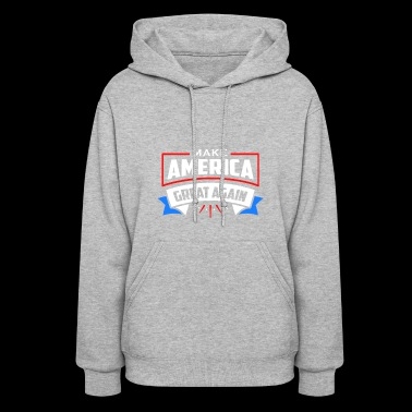 MAGA Red White and Blue - Women's Hoodie