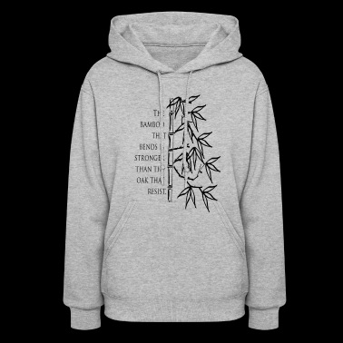 The Bamboo that bends - Women's Hoodie