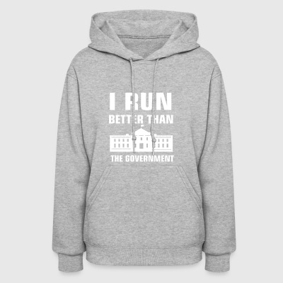 Run better than the Government - Women's Hoodie