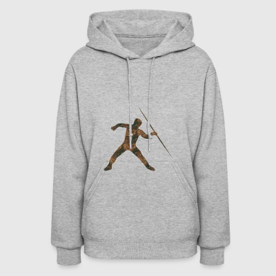 Rust Javelin Throw - Women's Hoodie