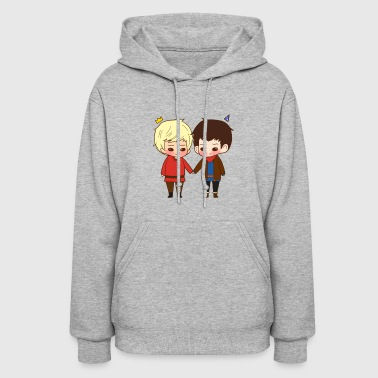 A King And His Sorcerer A Sorcerer And His King T - Women's Hoodie