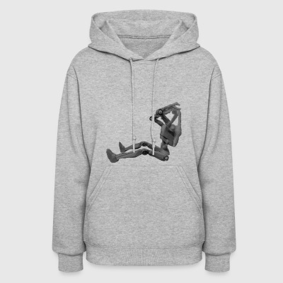 Stormy's headless battle droid design - Women's Hoodie