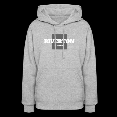 WYOMING RIVERTON US STATE EDITION - Women's Hoodie
