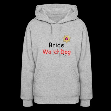 Cool Bride Watchdog with badge and stars - Women's Hoodie