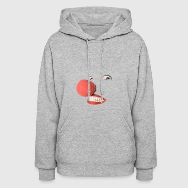 Red nose, clown - Women's Hoodie
