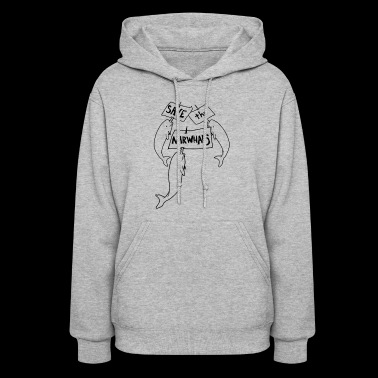 Save The Narwhals Funny T shirt - Women's Hoodie