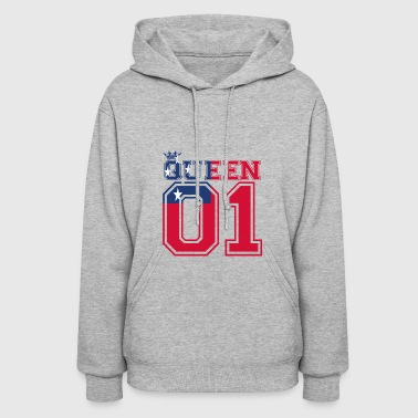 partner land queen 01 princess Samoa - Women's Hoodie