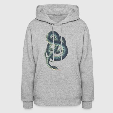 Rattle Snake Childrens Book Painting Gift - Women's Hoodie