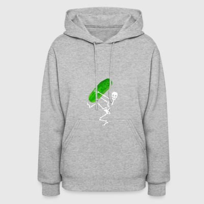 skeleton pickle - Women's Hoodie