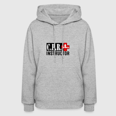 CPR INSTRUCTOR NEW FONT - Women's Hoodie