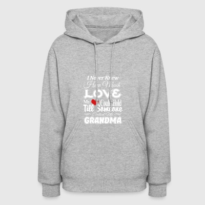 I never knew How much love My heart could hold til - Women's Hoodie