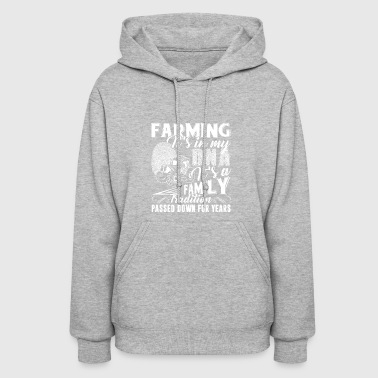Farming It's In My DNA Shirt - Women's Hoodie