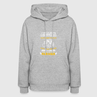 Forever the title Farmer T Shirts - Women's Hoodie