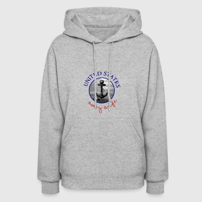 united states navy wife - Women's Hoodie