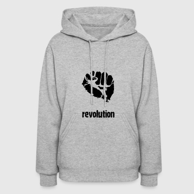 Anti Against Television Mainstream - Women's Hoodie