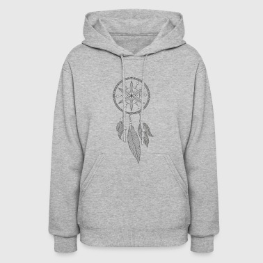Grey Dream Catcher - Women's Hoodie
