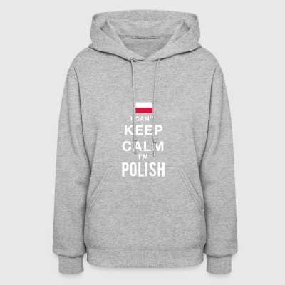 Keep calm Polish - Women's Hoodie