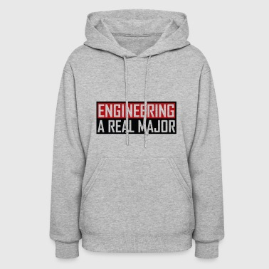 Engineering A Real Major Apparel - Women's Hoodie