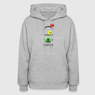 The Traffic Lights of Global Warming - Women's Hoodie