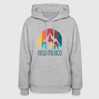 Retro New Mexico Design for Men Women and Kids - Women's Hoodie