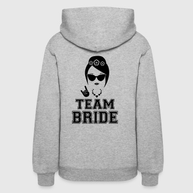 Team bride bachelorette party shirt - Women's Hoodie