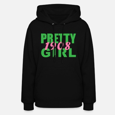 Alpha Pretty Girl 1908 - Women's Hoodie