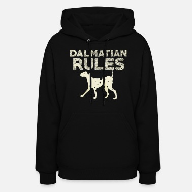 Dog Head Dalmatian - Women's Hoodie
