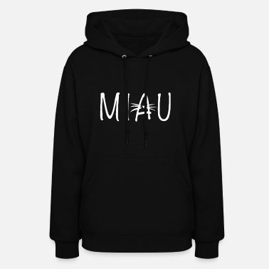 german cat makes miau - Women's Hoodie