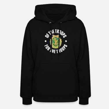 Troops MP Emblem Of the Troops for the Troops - Women's Hoodie