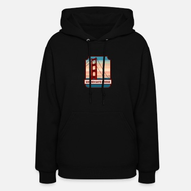 Golden Gate Golden Gate Bridge - Women's Hoodie