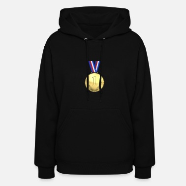 First Place medal first place - Women's Hoodie