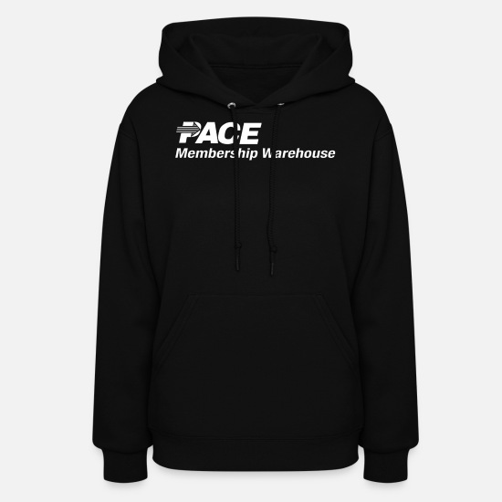 Warehouse Hoodies & Sweatshirts - Pace Membership Warehouse - Women's Hoodie black