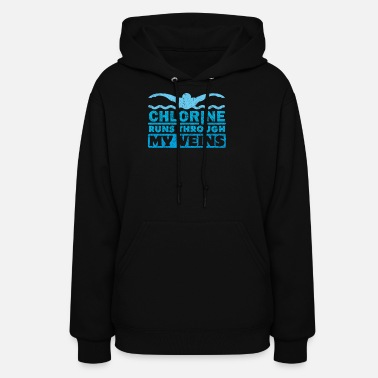 Swimming Instructor Swimming Training Sports Swimming Instructor - Women's Hoodie