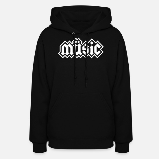 Heavy Metal Hoodies & Sweatshirts - Heavy Metal Music - Women's Hoodie black