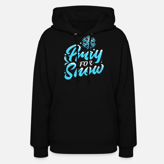 Winter Sports Hoodies & Sweatshirts - Ski Ski Ski Ski - Women's Hoodie black