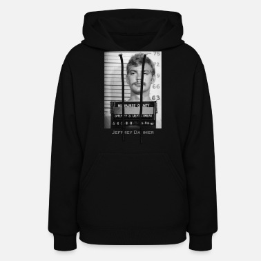 Killer Jeffrey Dahmer Serial Killer Mugshot - Women's Hoodie