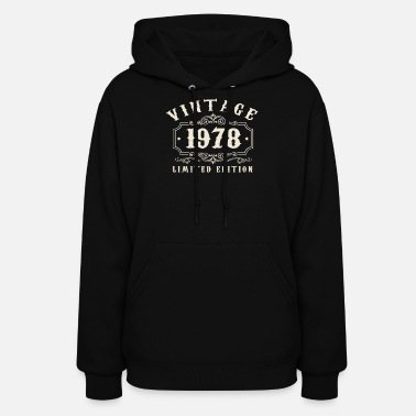 1978 (Gift) Vintage 1978 Limited Edition - Women's Hoodie