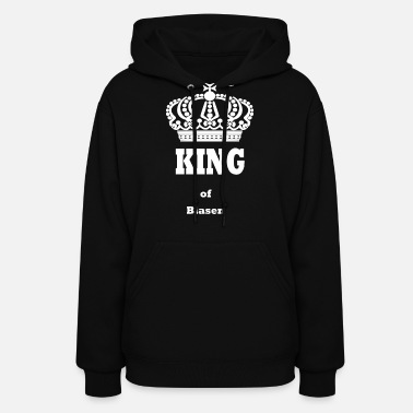 Blasen KING of Blasen kings queen crown funny saying - Women's Hoodie