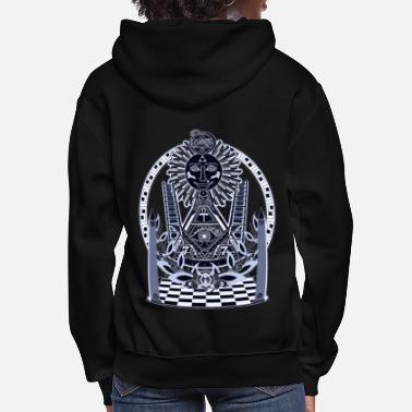 Circle Temple of the Light Body 1 - Women's Hoodie