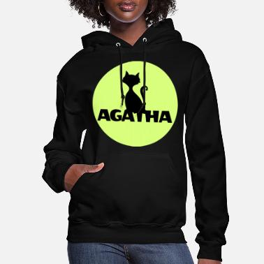 Name Day Agatha Name First name Name Motif name day - Women's Hoodie