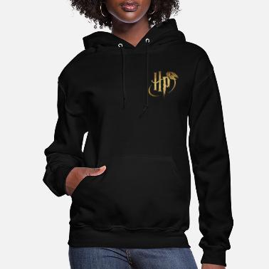 Harry Potter Small Logo Gold - Women's Hoodie