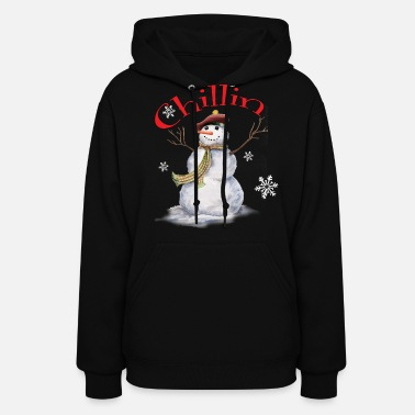 Ugly Women's Chillin With My Snowmies - Women's Hoodie